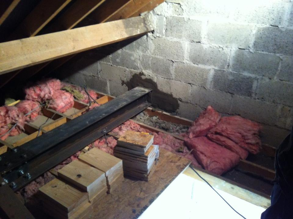 Attic conversion construction