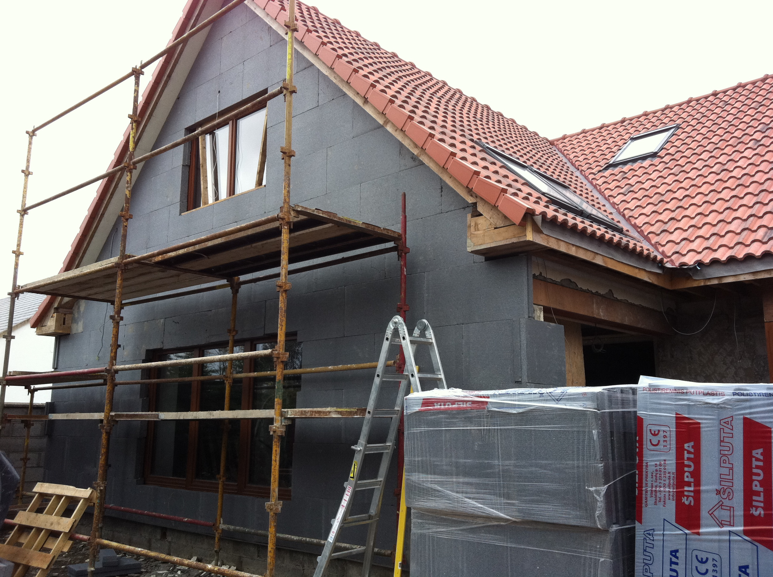 External house insulation face