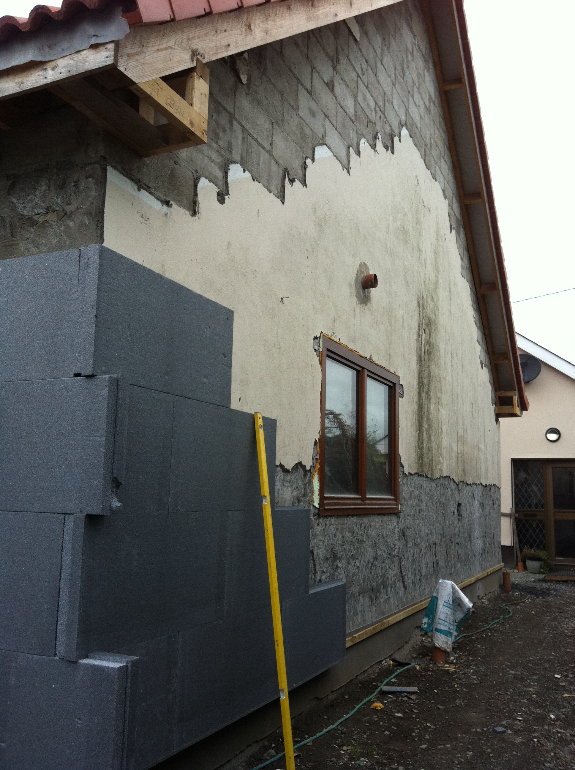 External house insulation