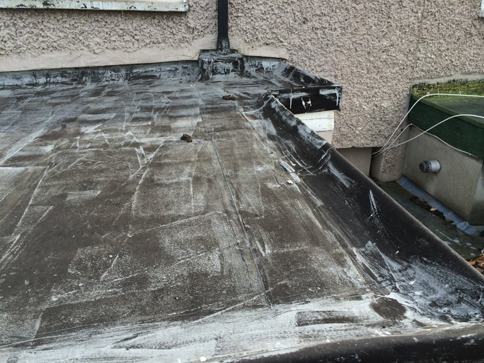 Renovation of extension roof start