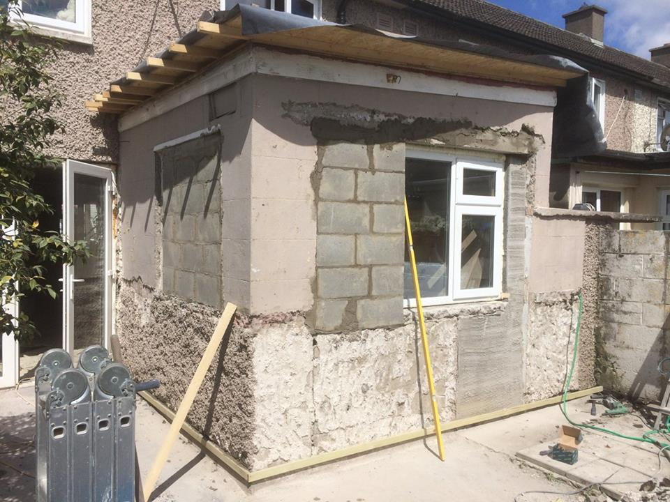 Renovation of extension start