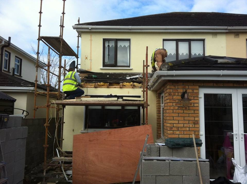 Second story extension start